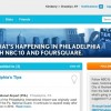 NBC 10 Integrates Foursquare With Local Reporting