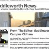Journalism 101: Students Given Hyperlocal News Site 'Saddleworth News'