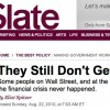 Slate, Spitzer Facing Defamation Lawsuit From Bankers After Controversial Post