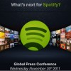Spotify Announces 'What's Next' Conference