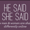 Even when it comes to sharing online men are different than women [Infographic]