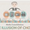 Only six media companies control 90% of the content [Infographic]