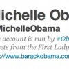 Michelle Obama Becomes the First First Lady on Twitter